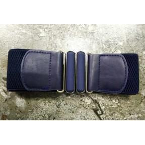 Ремень/пояс резинка 50 мм 11 темн. синий текстиль Китай