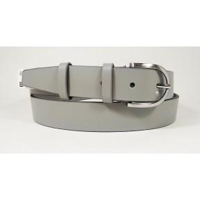Ремень/пояс 30 мм 1200016 для брюк или джинсов серый натуральная кожа Black Tortoise Россия 120 см(р)