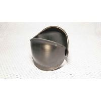 Браслет в восточном стиле черненый серый металл Китай 5х6 см(р)
