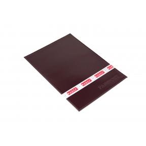 Обложка на паспорт с визитницей на 2 карты бордовый Натуральная кожа Barez Россия