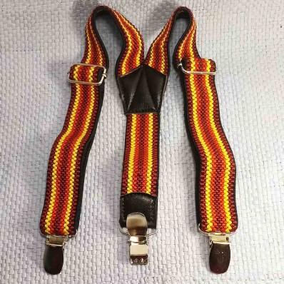 Подтяжки детские ширина 25 мм от 3-х до 6-7 лет разноцветные текстиль baby braces Китай