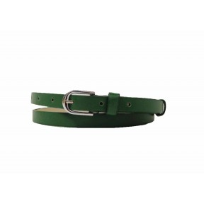 Ремень/пояс 15 мм 15 мм прямой зелёный иск. кожа Китай