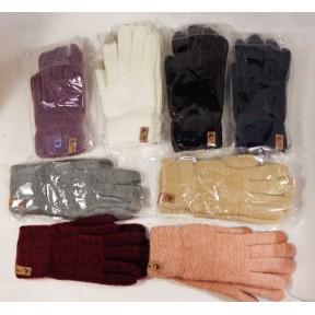 Перчатки вязаные Ж-234 сенсорные шерсть/ангора/акрил Шен ци Китай
