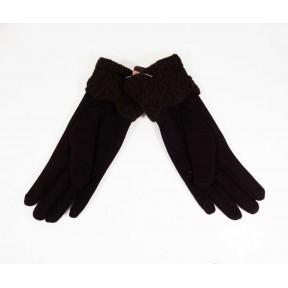 Перчатки текстильные с каймой запястье шерсть/нейлон Лйна Китай