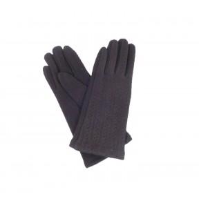 Перчатки текстильные YUNUO полоски кашемир/акрил Китай