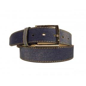 Рем. Casual 35 мм джинсовая ткань синий иск. кожа PRC