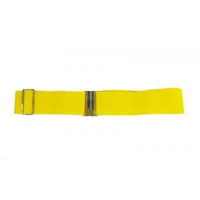 Ремень/пояс резинка 50 мм регулировка желтый GEM Россия