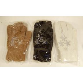 Перчатки текстильные звездочки Duss Китай